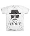 T-shirt Breaking Bad Heisenberg wit